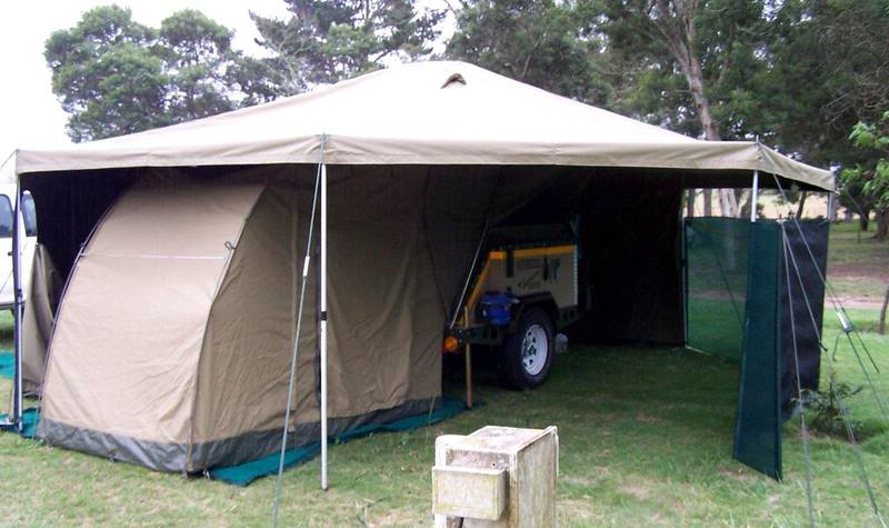 FOR SALE 2007 Conqueror Supra 4x4 Camping Trailer
