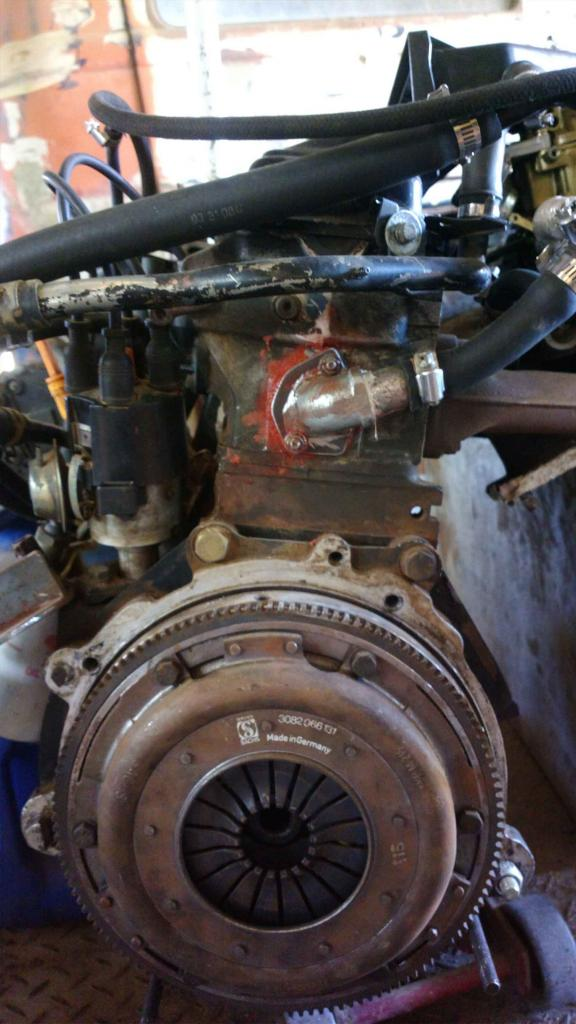 Clutch problems with kombi gearbox - Aircooled VW South Africa