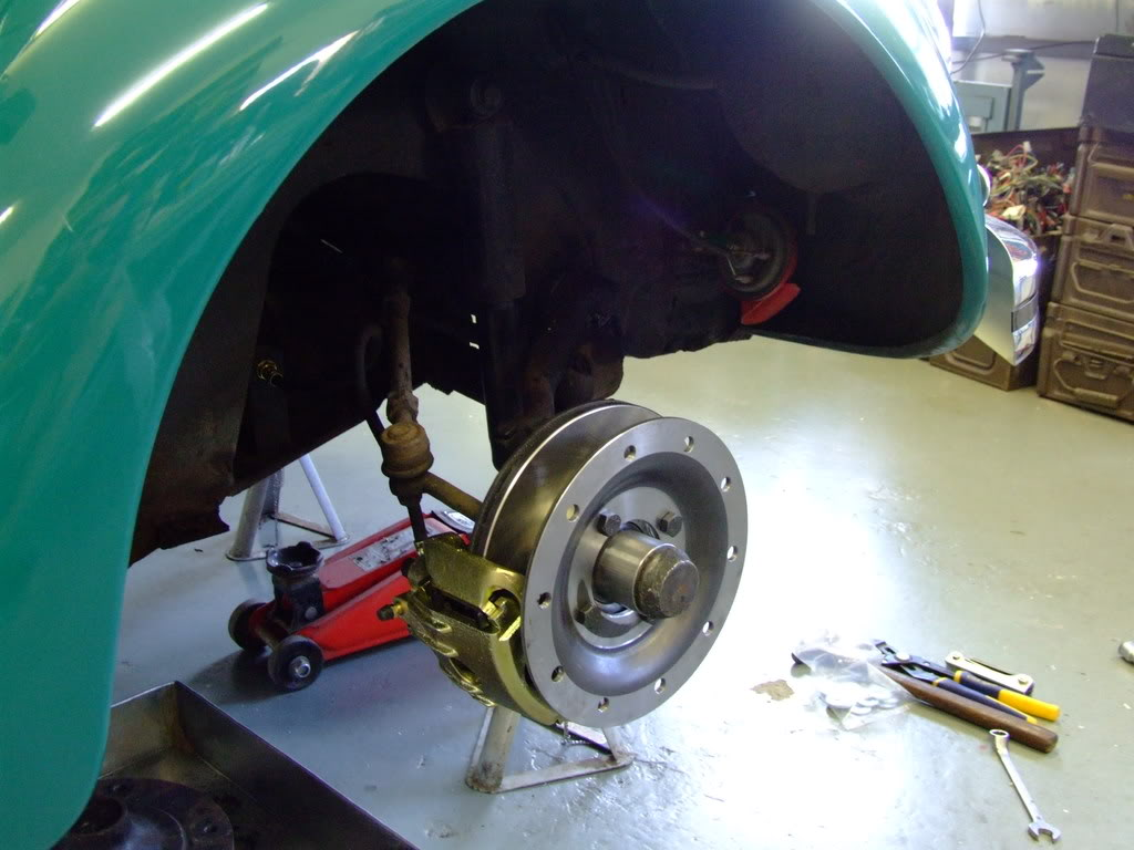 Air Cooled Vw Brake Lines : Wheel disc brakes aircooled vw south africa