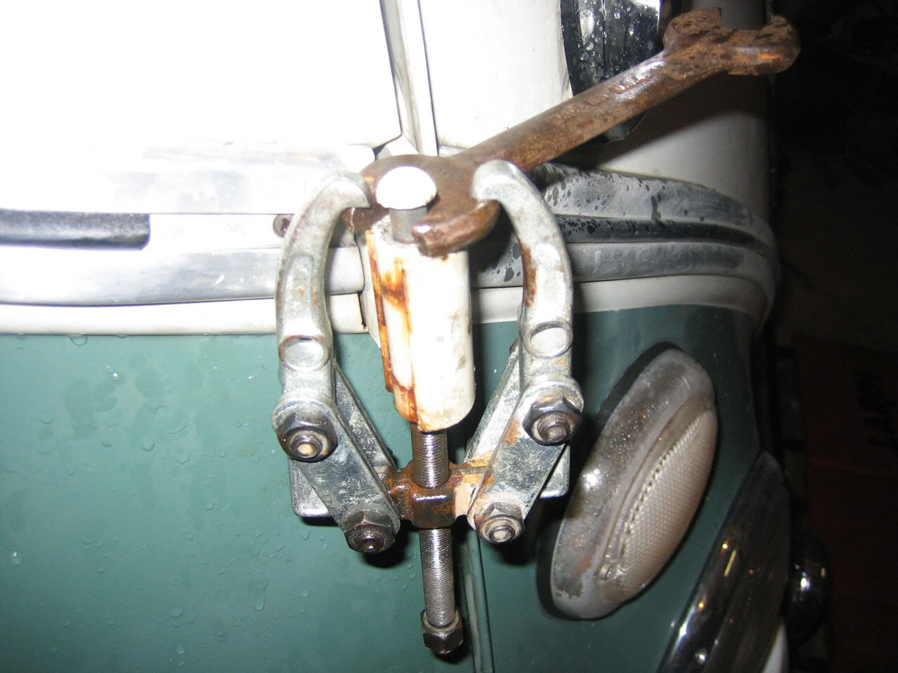 Hinge Pin Removal Tools And Ways To Aircooled Vw South