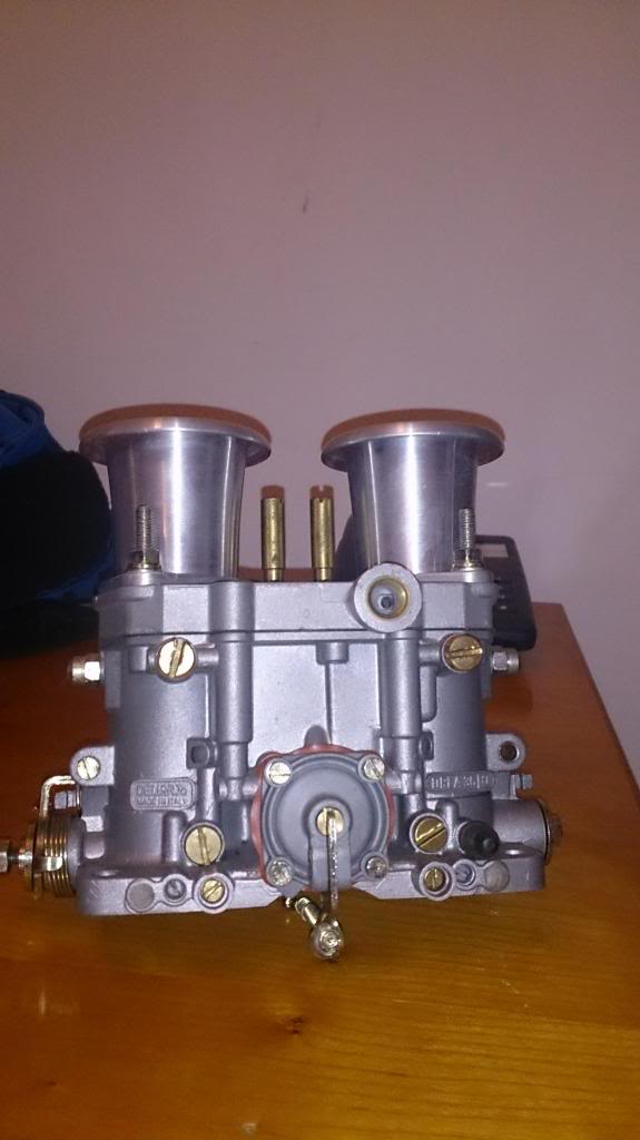 36 Dellorto, Manifold and filter - Aircooled VW South Africa