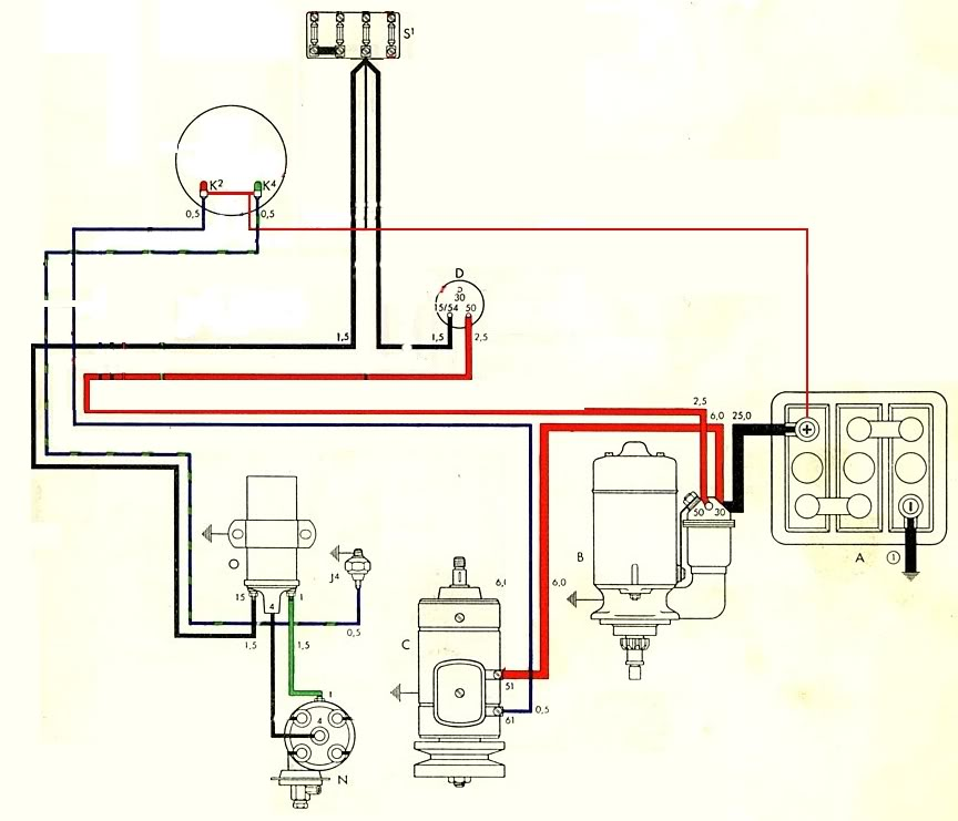Fine 74 Vw Beetle Wiring Diagram Ideas Electrical Circuit Rheidetec: 1974 Volkswagen Beetle Wiring Diagram At Elf-jo.com
